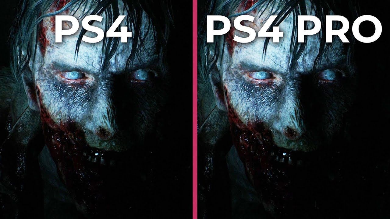 Resident Evil 2 Remake – PS4 vs  PS4 Pro Frame Rate Test & Graphics  Comparison