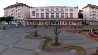 Площадь Ленина с высоты . Орша
