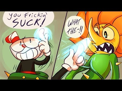 Thumbnail: This Can Beat Cagney Carnation!? (Cuphead Comic Dub Compilation)