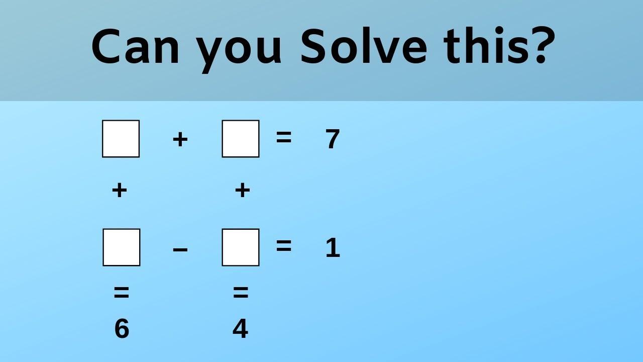 Mathe Iq Test