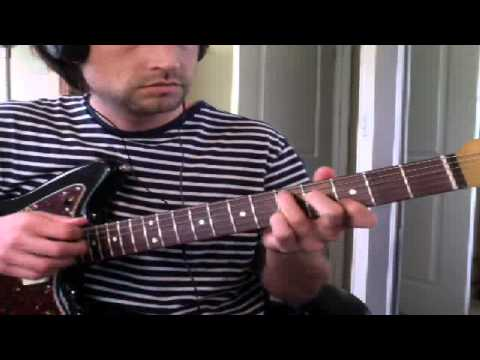 "Guitar Lesson: ""Oh Me"" by Nirvana (from New York Unplugged album) - How To Play Tutorial"
