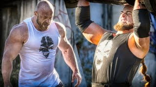 Bodybuilder VS Strongman - STRENGTH WARS 2k15 #6 thumbnail