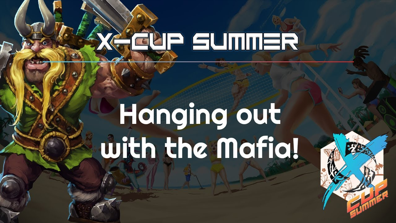 Hanging out with the Mafia - X Cup Summer - Heroes of the Storm