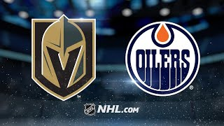 McDavid, Oilers rout Golden Knights in 8-2 win