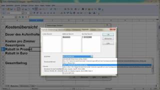 7. Teil Dateieigenschaften, Kopf- und Fußzeile einfügen bei OpenOffice Calc