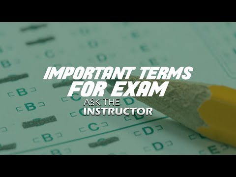 Important Key Terms For Florida Real Estate Exam - Ask The Instructor