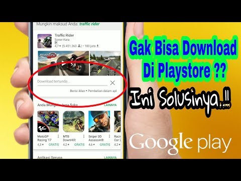 How to Fix Download Application Fail On Playstore