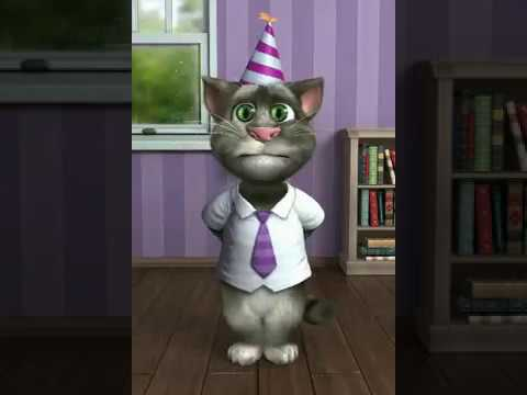 Happy Birthday Cameron from Talking Tom Cat