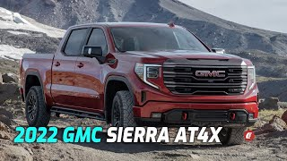 First LOOK: 2022 GMC Sierra 1500 AT4X Is A Luxury Off-Roader