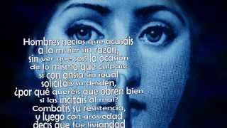 Hombres necios - Sor Juana Inés de la Cruz
