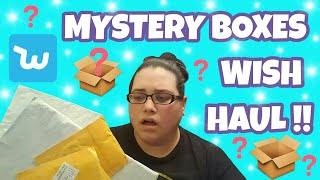 WISH HAUL - MYSTERY BOXES!!!!!