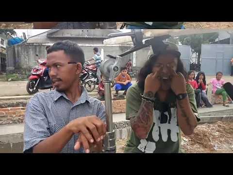Fatih di kampung jawara Behind The Scene Ost Wali Band