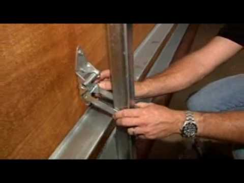Garage Door Brace bracing your garage door - youtube