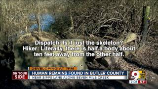 Human remains found in Butler County