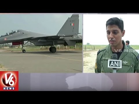 IAF Conducts Rehearsals For Air Force Day Celebrations In Halwara | V6 News