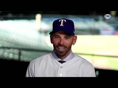 Get to know new Texas Rangers manager Chris Woodward