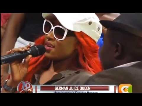10 over 10: One on One with 'German Juice Queen' Cynthia Morgan