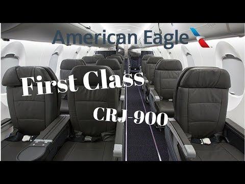 American Eagle First Class CRJ-900