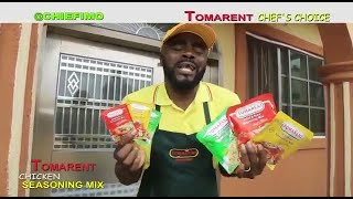 Chief imo Mama Kitchen || Tomarent chicken seasoning MIX the chief choice - Chief Imo Comedy
