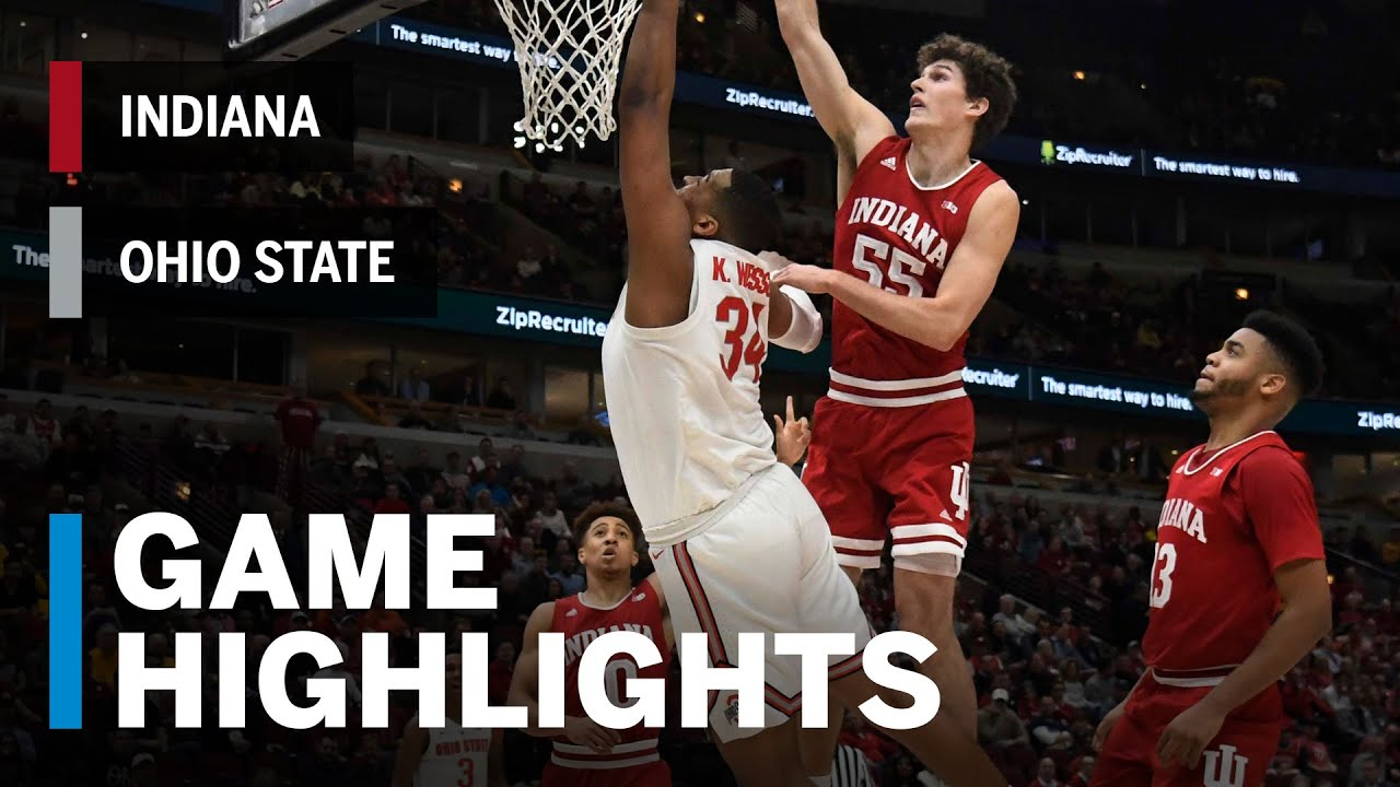 IU basketball puts one foot into NCAA tournament with win over No ...