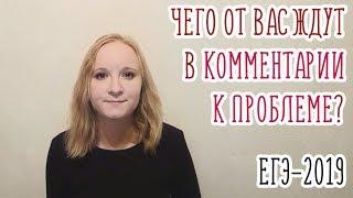 что такое КОММЕНТАРИЙ К ПРОБЛЕМЕ ТЕКСТА простым языком  ЕГЭ 2019  Русский язык
