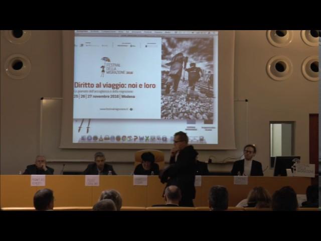 Festival della migrazione 2016 - intervento di Giancarlo Perego
