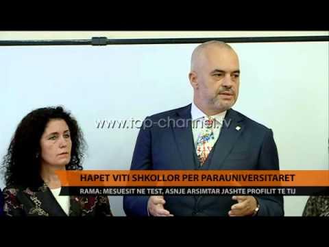 Hapet viti shkollor per parauniversitaret - Top Channel Albania - News - Lajme