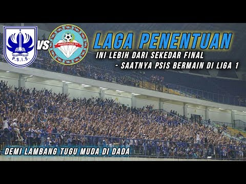 Amazing chants panser biru never surender support psis semarang