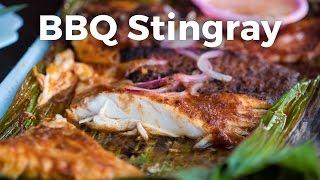 Best Singapore Food - BBQ Sambal Stingray at Chomp Chomp Food Centre!