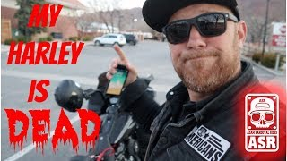 My Harley is DEAD/Sunset ride in Moab