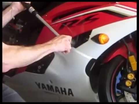 Yamaha R6 No Cut Frame Slider Installation Step by Step Instructions ...