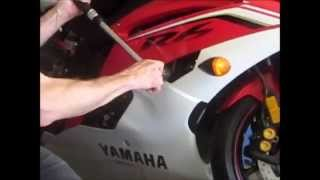 Gambar cover Yamaha R6 No Cut Frame Slider Installation Step by Step Instructions