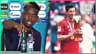 8 players who would have taken the beer Paul Pogba hid | Oh My Goal