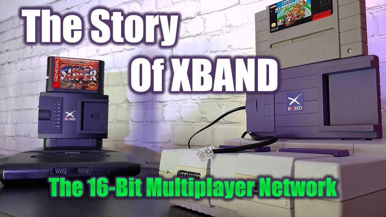 Playing Sega Genesis & SNES Online In 1994 | The Story of XBAND - The 16-Bit Multiplayer Network