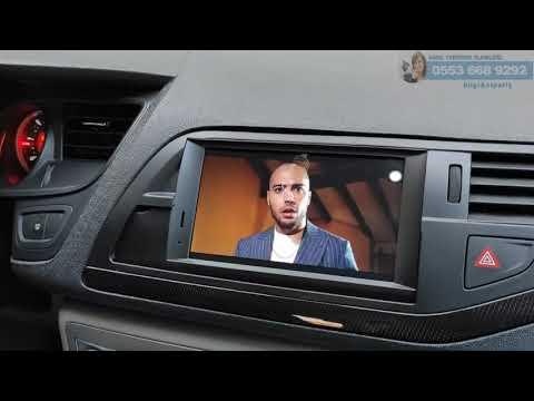 Citroen C5 çerçeve Dahil Android Multimedya Navigasyon Sistemi Incelememiz - Emr Garage Ankara