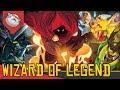 ROGUELIKE COM MAGOS - Wizard of Legend [Conhecendo o Jogo Gameplay Português PT-BR]