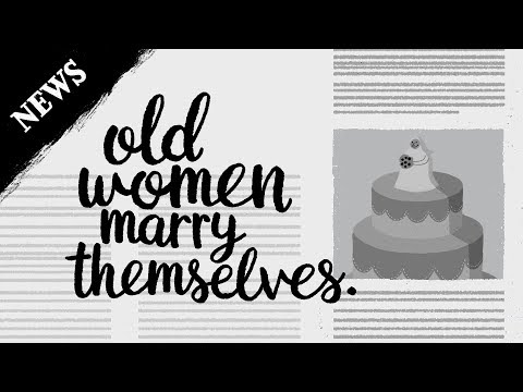 (news) - Old women marry themselves