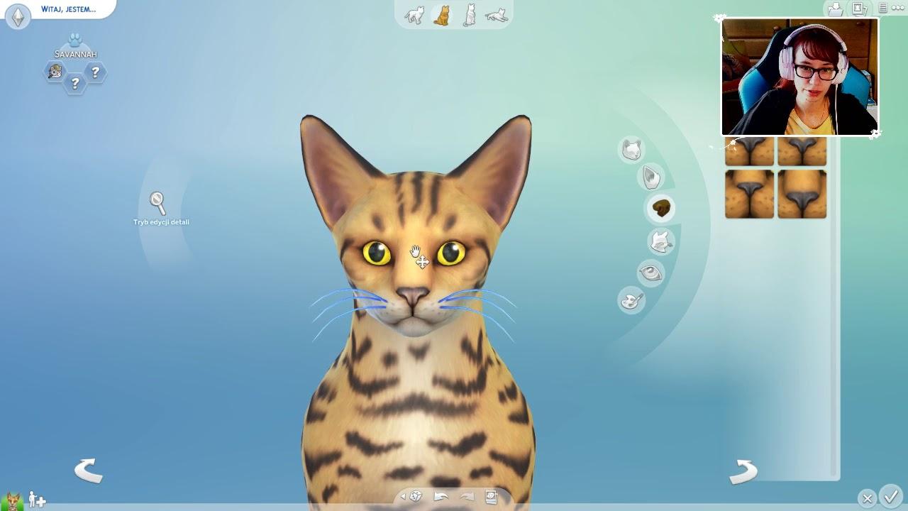 "[Archiwum] Live – The Sims 4 Psy i Koty! (1) – [1/2] – ""Kotka Pepperoni"""