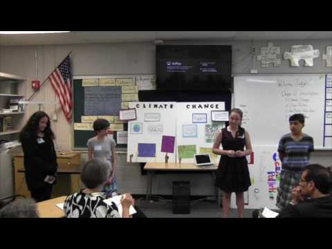 Moore Middle School: Public Policy Showcase May 25, 2017