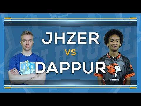 JHZER VERSUS DAPPUR | MOI, OR MOI MOI? at Gold Rush LAN