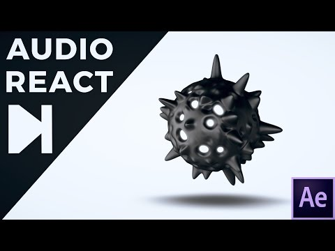 After Effects Tutorial - 3D Audio React
