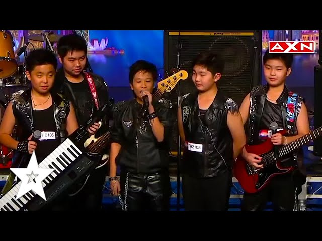 TALENTO FROM THAILAND! These Talented KIDS ROCK! Asia's Got Talent