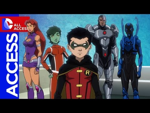 Inside Justice League vs. Teen Titans + Wonder Woman: Earth One