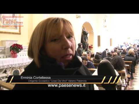Liceo Da Vinci Vairano Concerto con intervista cortellessa