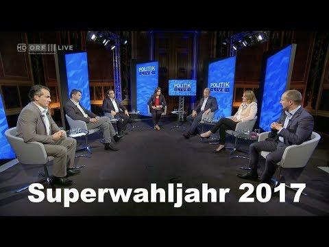 Das Superwahljahr 2017 - Alles neu in Wien und Brüssel? - Politik live - 29.6.2017