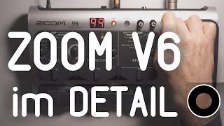 ZOOM V6 erklärt - alle Funktionen und Einstellungen im Überblick (ZOOM V6 deutsch)