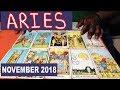 ARIES NOVEMBER 2018 Horoscope Psychic Tarot Reading