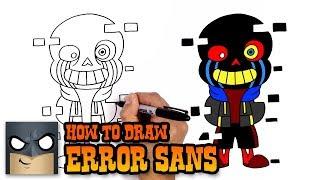How to Draw Error Sans | Undertale (Art Tutorial)