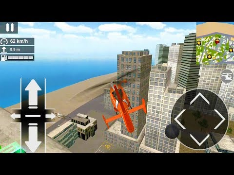 Police Helicopter Simulator - More Fun Flying Help and Rescue Missions Game (Android/IOS)  