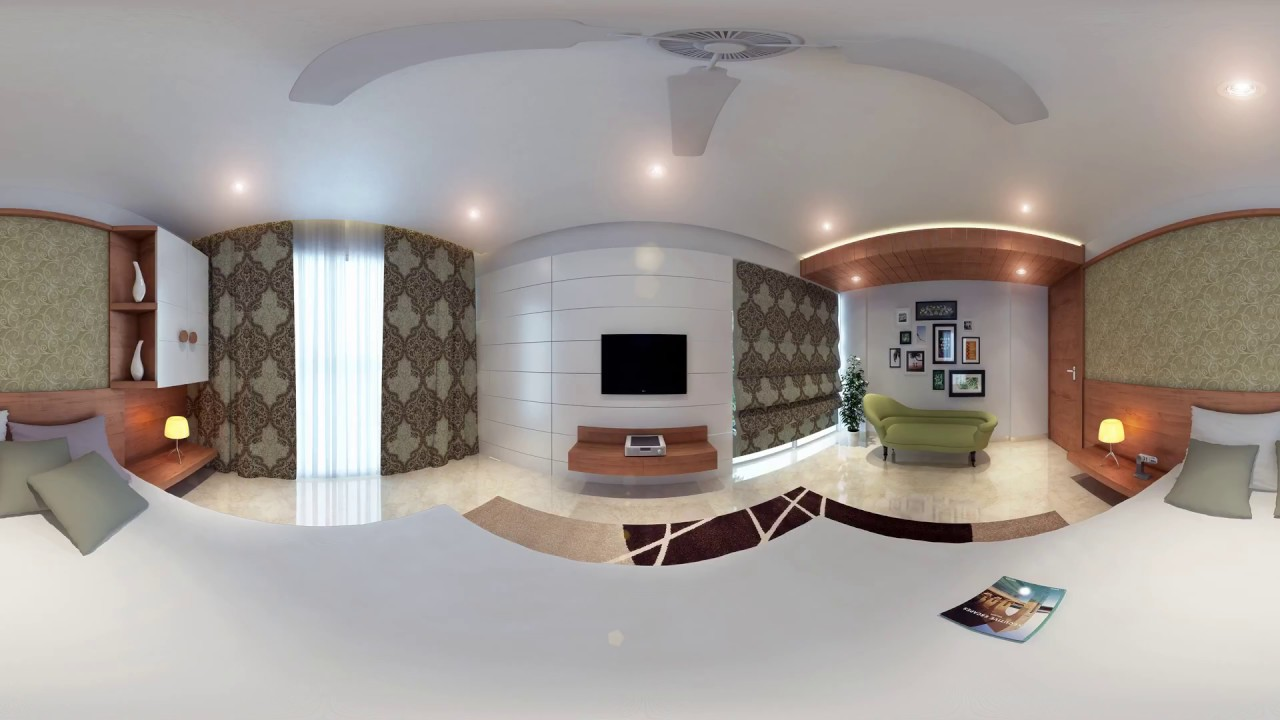 Master Bedroom 3d Design 360 degrees master bedroom 3d view - youtube